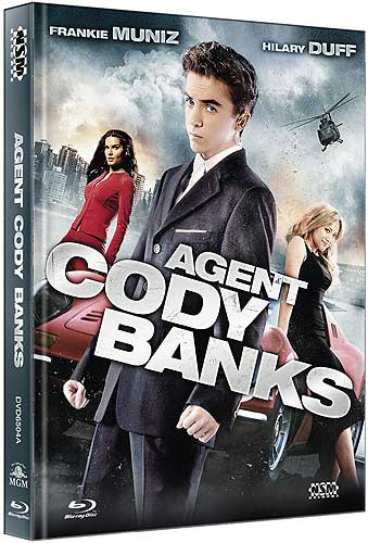 Agent Cody Banks - Limited Uncut 111 Edition (DVD+Blu-ray Disc) - Mediabook - Cover A
