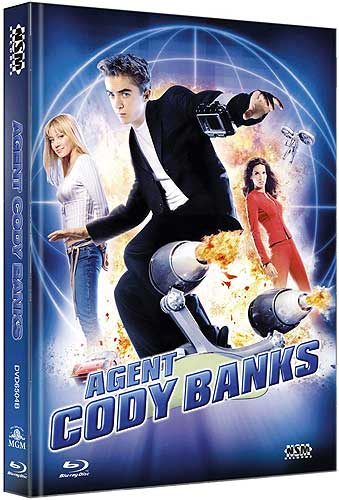Agent Cody Banks - Limited Uncut 111 Edition (DVD+Blu-ray Disc) - Mediabook - Cover B