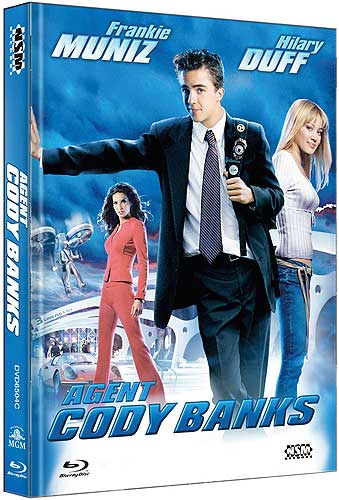Agent Cody Banks - Limited Uncut 111 Edition (DVD+Blu-ray Disc) - Mediabook - Cover C